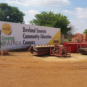 Geberit know-how shared with Devland Community Education Campus in Soweto